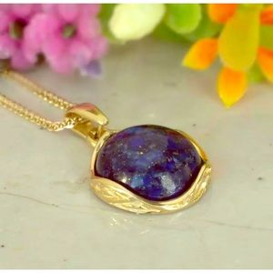 Jewelry - NEW HAND MADE LAPIS LAZULI FINE NECKLACE 18-24 in